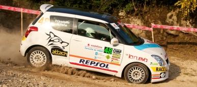 Rallyes: Gradaille siempre en elpodio